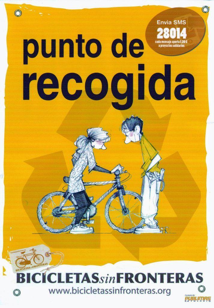 PUNTO DE RECOGIDA BICICLETAS SIN FRONTERAS