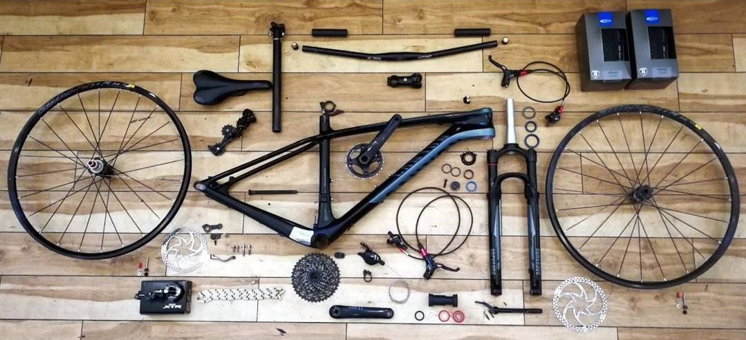 revision biciconalas taller limpieza
