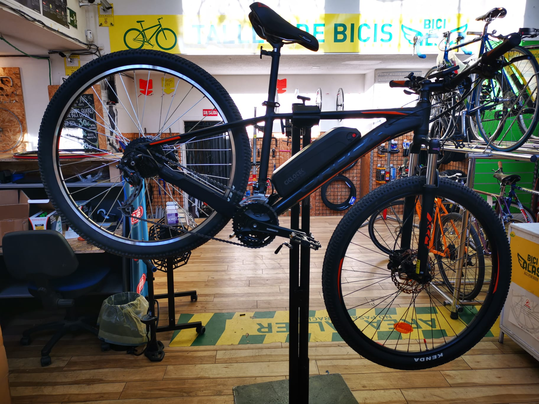 convierte tu bicicleta en electrica